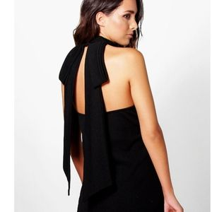 Bow Back Dress Top